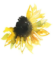 best 25 watercolor sunflower tattoo ideas on pinterest