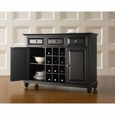 15 best collection of elegant black sideboards and buffets