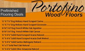 portofino hardwood flooring special sales promotions