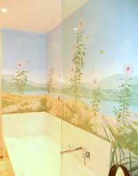 Bathroom Mural Ideas by Interior Murals Chris Frolet