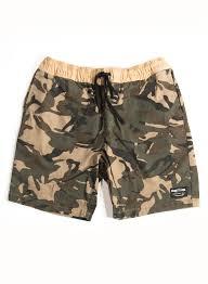 Mens Flag Shorts Bottoms Flag Nor Fail