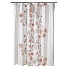 Threshold Ombre Curtains by Target Threshold Coral Watercolor Shower Curtain Feeling