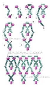 free pattern for beaded necklace dita 2 bead weaving tutes