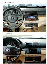 Add Usb Port To Car Stereo Install Bmw M5 E39 E53 Dvd Player With Gps Navigation Can Bus Tv