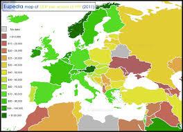 map of earope socio economic maps of europe europe guide eupedia