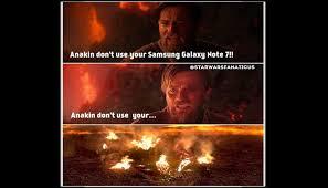 Galaxy Note Meme - samsung galaxy note 7 divertidos memes se burlan del explosivo