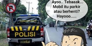Meme Mobil - muncul meme mobil polisi ini parkir atau berhenti merdeka com