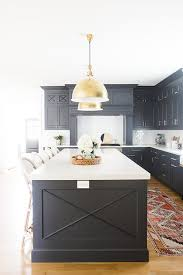 blue kitchen cabinets in cabin and loisfavorite paint colors for kitchen cabinets