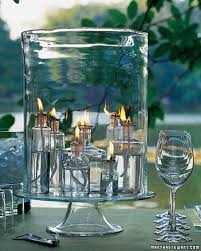 wine birthday candle outdoor lighting ideas martha stewart
