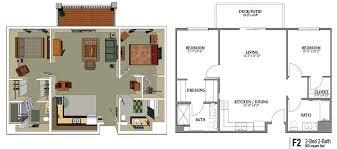 2 bedroom 2 bath floor plans senior living floor plans crestview senior living