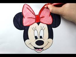 minnie mouse drawing pages tags minie mouse drawing nemo