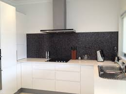 White Cabinets Kitchen Kitchen Handless Tow Pack White Cabinets Benchtop Caesarstone