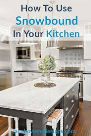 which sherwin williams paint is best for kitchen cabinets how to use sherwin williams snowbound in your kitchen by