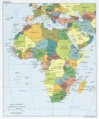Coordinates Map Africa Political Map U2022 Mapsof Net