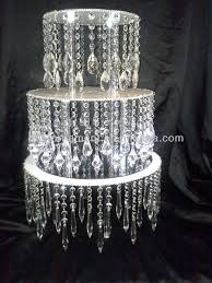 Cheap Fake Chandeliers Acrylic Crystal Chandelier Wedding Cake Stand Buy Wedding Cake