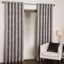 buy venice velvet silver eyelet curtains online home focus at