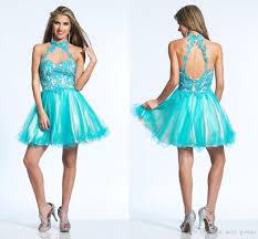 2016 year new elegant cocktail dress skirt short halter turtleneck