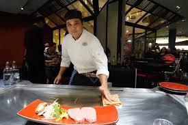 restaurant japonais chef cuisine devant vous kamome le restaurant japonais de l hôtel mövenpick ève le