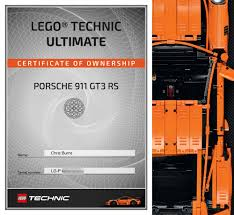 porsche lego lego technic porsche 911 gt3 rs review slashgear