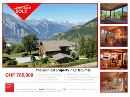 Land Plots For Sale by Property Sales In La Tzoumaz Verbier And 4 Vallées
