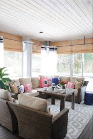 Patio And Deck Ideas Screened In Porch Decorating Ideas For All Seasons