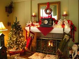 Christmas Decorations For Fireplace Mantel 50 Most Beautiful Christmas Fireplace Decorating Ideas Christmas