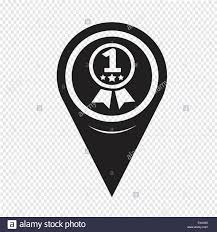 Map Pin Map Pin Pointer Number 1 Icon Stock Vector Art U0026 Illustration