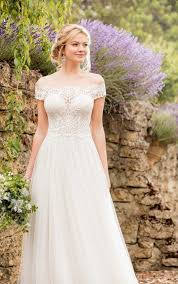 flowy wedding dresses wedding dresses essense of australia
