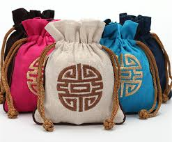 large gift bags embroidery happy large gift bag jewelry packaging style