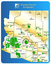 Arizona State Map With Cities by Areas We Serve University Termite U0026 Pest Control