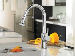 kitchen faucet contemporary hansgrohe bathroom single hole