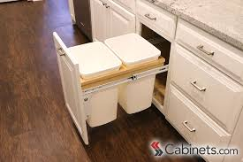 Titusville Cabinets Pull Out Trash Cans Available In Our Assembled Cabinet Line As