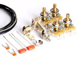 amazon com toneshaper guitar wiring kit for les paul standard