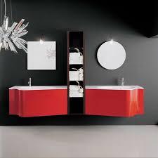 Red Bathroom Cabinets Modern Bathroom Vanity Cabinets Ideas Furniture Mommyessence Com