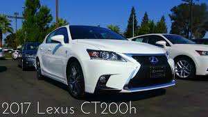 lexus ct200h 2017 lexus ct200h f sport 1 8 l 4 cylinder review youtube