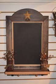 Decorative Chalkboard For Kitchen Rustic Star Primitive Chalkboard Kitchen Wall Decorations