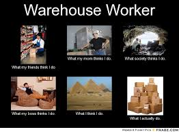 Warehouse Meme - the real warehouse