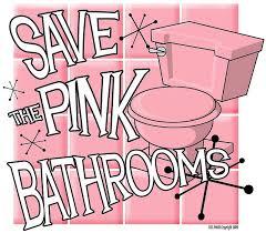 wonderful pink bathroom decorating ideas and pink tile bathroom