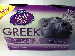 dannon light and fit nutrition crazy food dude review dannon light fit blueberry greek yogurt