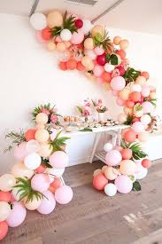 30th birthday flowers and balloons best 25 balloon garland ideas on party ballons