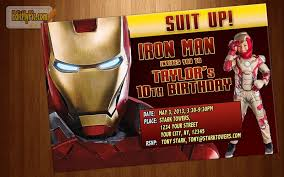 iron man birthday card happy birthday card boy the avengers hbc134