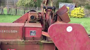 massey ferguson 20 8 baler for sale youtube