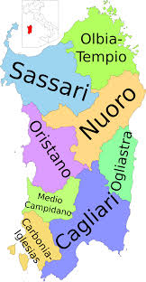 Italy Regions Map by File Map Of Region Of Sardinia Italy With Provinces It Svg
