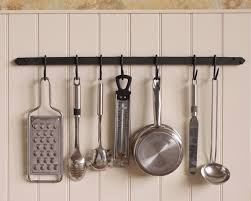 Kitchen Utensil Holder Ideas Decor Wall Mount Pot Rack With Storage Shelf For Kitchen