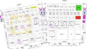 floor plan map full hall 5 hall 6 singapore expo sitex 2014