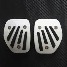 accelerator gear pedal pedale manual sticker cover accessories for