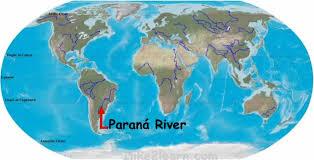 parana river map paraná river jpg