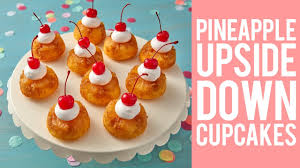 pineapple upside down cupcakes recipe youtube