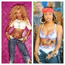 copy cat hair style lil kim n nicki lil kim vs nicki minaj