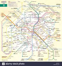 Map Of Paris Metro by Paris Metro Map The French Capital City Underground Network Map